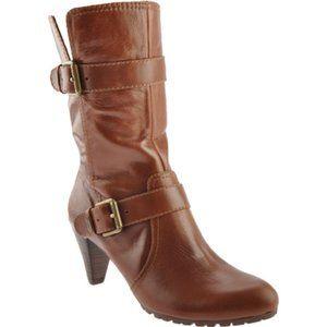 Anne Klein Spyder Mid Calf Boot Size 9M